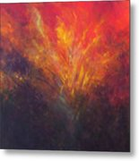 Flame Within Metal Print