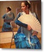 Flamenco 1 Metal Print