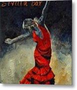 Flamenco 18 Metal Print
