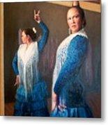 Flamenco 3 Metal Print