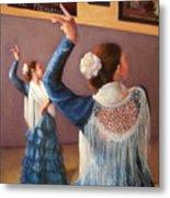 Flamenco 7 Metal Print