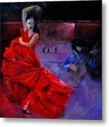 Flamenco 88 Metal Print