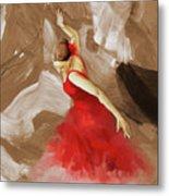 Flamenco Dance Women 02 Metal Print