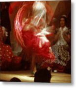 Flamenco Dancer In Seville Metal Print