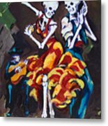 Flamenco Dancers II Metal Print