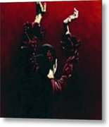 Flamenco Fire Metal Print