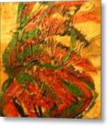 Flamenco Flame - Tile Metal Print