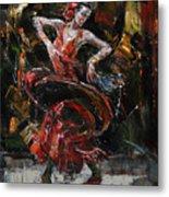 Flamenco II Metal Print
