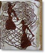 Flamenco Passion 1 Metal Print