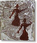 Flamenco Passion 3 Metal Print