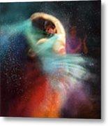 Flamencoscape 02 Metal Print
