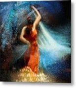 Flamencoscape 05 Metal Print