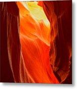 Flames At Upper Antelope Metal Print