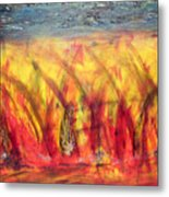 Flames Inferno Metal Print