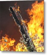 Flames Of Age Metal Print