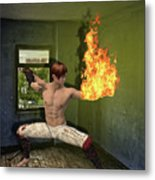 Flames Of Desire Metal Print