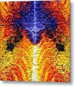 Flames Of Wrath Metal Print