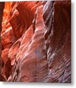 Flaming Walls Of Sandstone Metal Print
