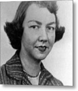 Flannery Oconnor, 1950s Metal Print