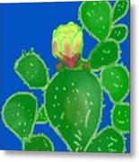 Flap Jack Cactus Metal Print