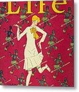 Flapper Cover, 1926 Metal Print