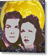 Flash And Dale - Astral Heroes Metal Print by Clif Jackson