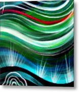 Flashes In Memory. Spring Metal Print