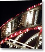 Flashing Lights Metal Print