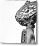 Flat Iron Icons #2 Metal Print
