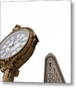 Flat Iron Icons #4 Metal Print