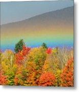 Flat Rainbow Metal Print