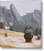 Flatiron Meadows - Boulder Colorado Metal Print