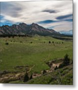 Flatirons From South Trails Metal Print