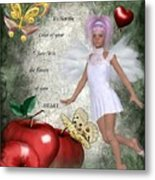 Flavors Of Your Heart Metal Print
