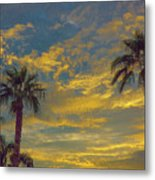 Flecks Of Gold Metal Print