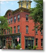 Flemington Main Street Metal Print