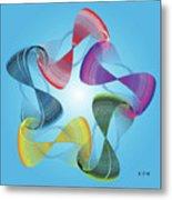 Fleuron Composition No. 178 Metal Print