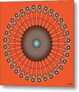 Fleuron Composition No 236 Metal Print