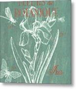 Fleurs De Botanique Metal Print