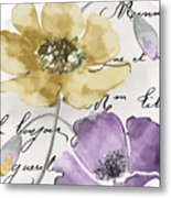 Fleurs De France II Metal Print