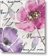 Fleurs De France IIi Metal Print