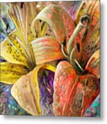 Fleurs De Lys 01 Metal Print