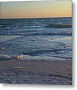 Flickering Lght Metal Print