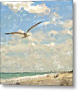 Flight From Canaveral Metal Print