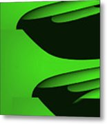 Flight - Green Version Metal Print