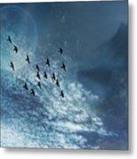 Flight Of Dreams Metal Print