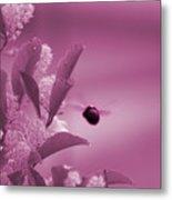 Flight Of Princess Bumble Bee Metal Print