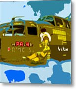 Flight Of The Apache Princess Metal Print