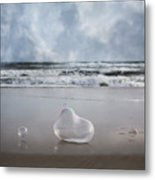 Float Bounce And Roll Metal Print
