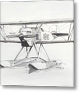 Float Plane Ib10 Metal Print